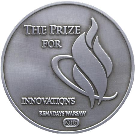 Srebrny medal na targach REMADAYS 2016
